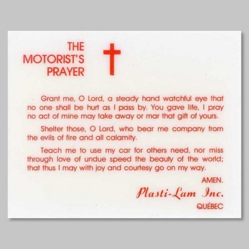 the motorist's prayer