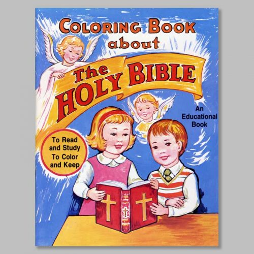 coloring book about the holy bible