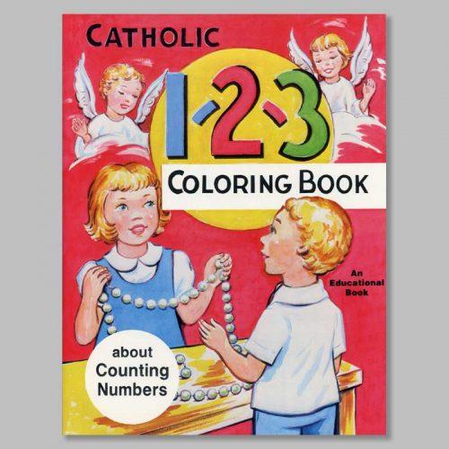 coloring book catholic 1-2-3