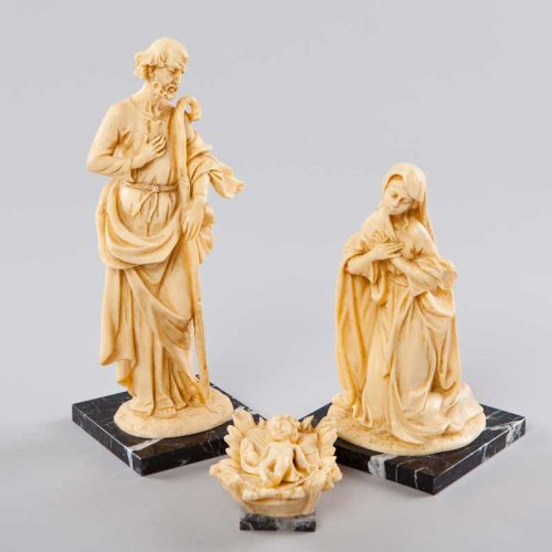 oxolyte nativity scene - 3 pieces