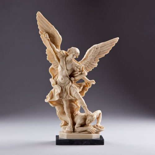 statue saint michael archangel