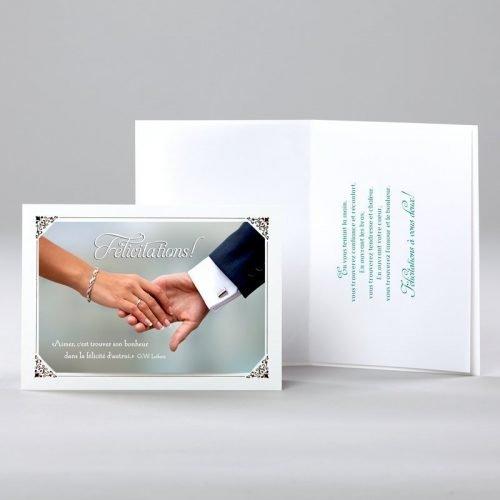 carte de mariage - le bonheur de l'autre